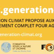 Génération Climat - Changement climatique
